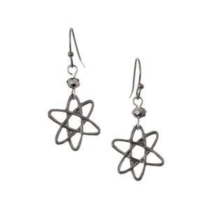 Dark Matter Atomic Earrings